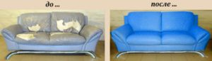 Перетяжка диванов на дому в Пензе недорого