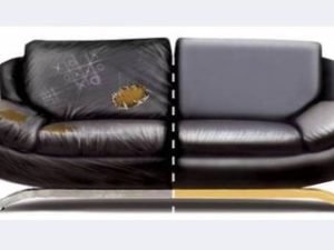 Перетяжка кожаного дивана в Пензе