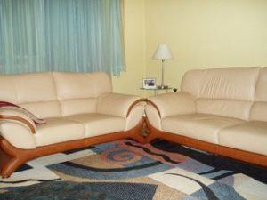 Перетяжка кожаной мебели в Пензе