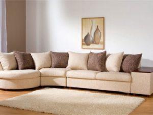 Перетяжка углового дивана на дому в Пензе